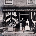George Shillaker's shop front
